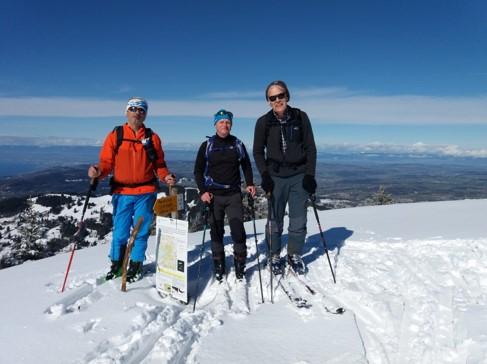 Randonnée à ski Folly – Molard (29.02-01.03 2020)
